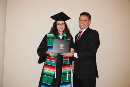 Vanessa Hernandez, Studies of Education.