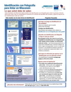 General Voter Photo ID Fact Sheet-Spanish_REV-10-19