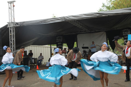 La danza mexicana de Vera Cruz.