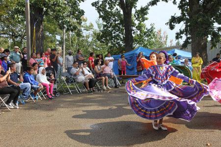 Público asistente a la Fiesta Hispana