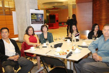 Ananda Mirilli, Reyna y Greskelly Peñaranda de Park Bank y otros.
