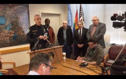 Michael Coval, Jefe de policia de Madison