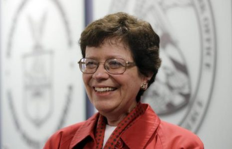 Canciller de UW Madison Rebecca Blank (foto: Paul Sancya/AP)