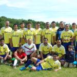 """Sahuayo, equipo integrado por deportistas conocidos de la Liga y otros nuevos. al Igual que """"Guadalajara"""", los miembros de """"Sahuayo"""" son mexicanos."""