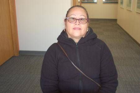 Sonia Avila, de Mexico en su segundo año de estudios en Literacy Network