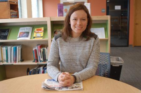 Jennifer Peterson, profesora de Literacy Network