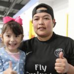Rebeca Macías Díaz and su hija