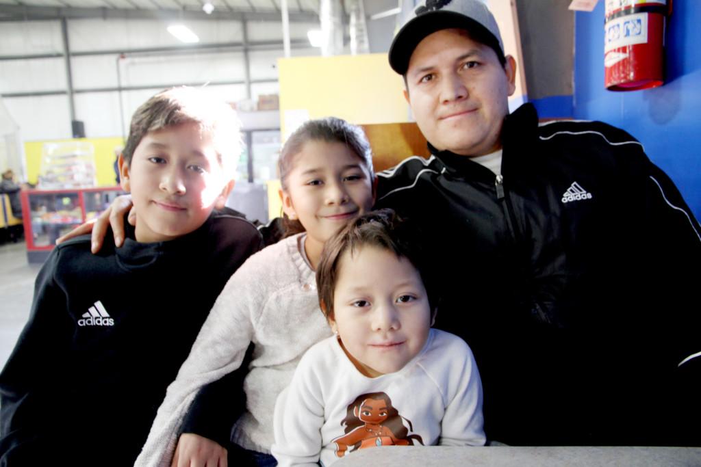 """Familia Gonzáles dedicada al fútbol 100%: """"Desde niños hay que crearles buenos hábitos"""""""