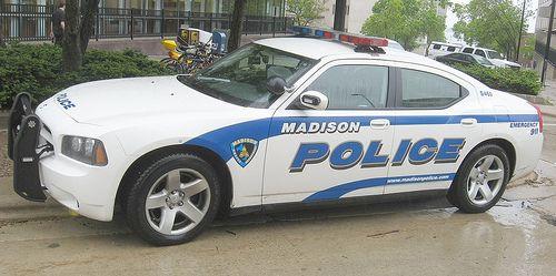 Carro de la policia de Madison