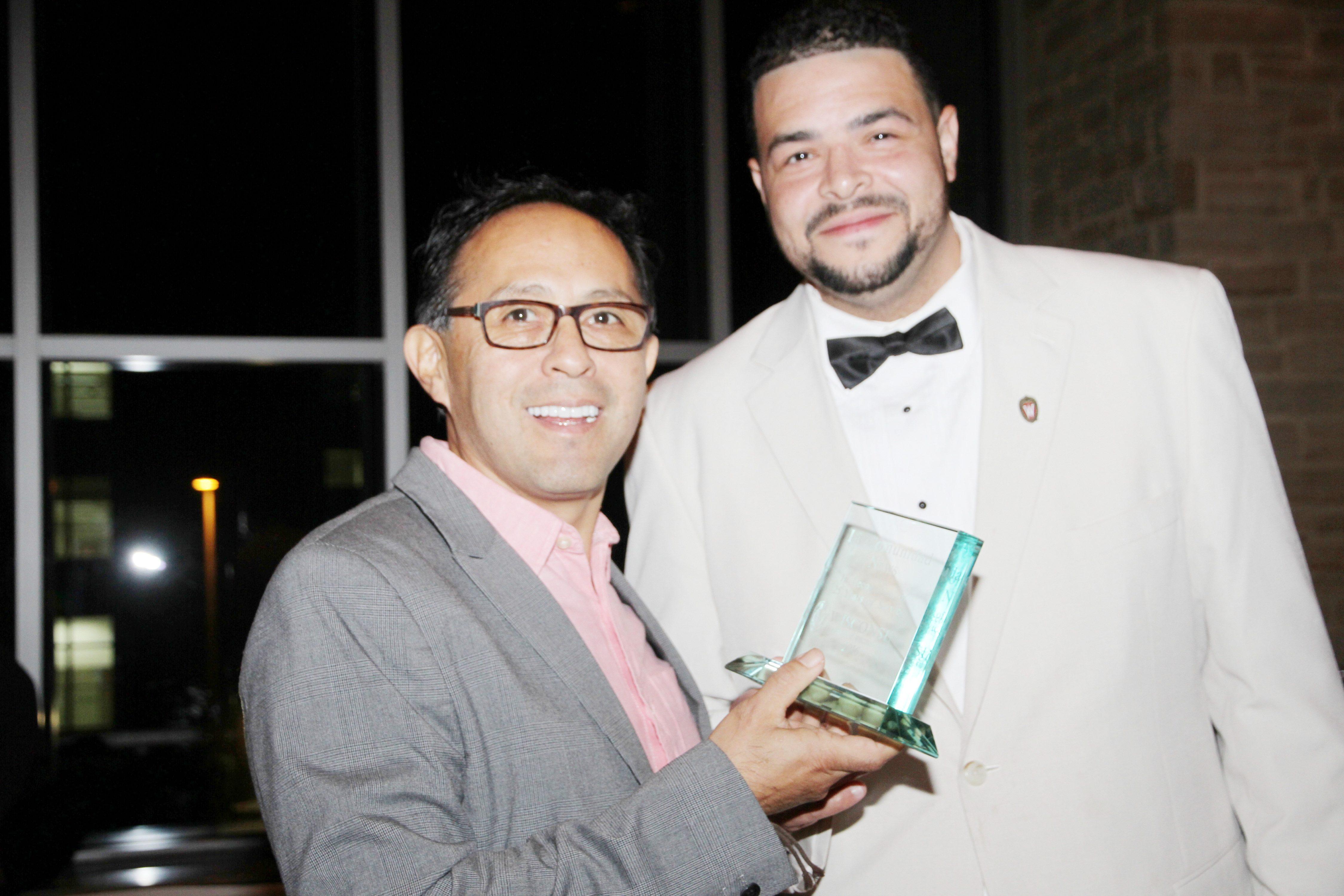 Dante y Philip Denis premio a LCNews
