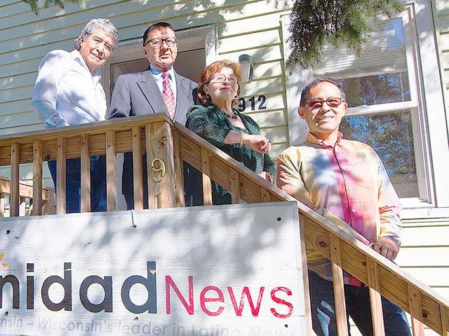 Luis, Rafael, Gladys y Dante de LCNews