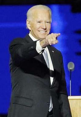 Joe Biden, Presidente electo de EE.UU.