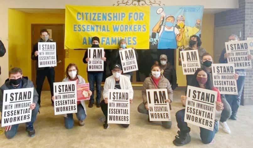 El 1ro. de  Mayo habrá marchas para reclamar a Joe Biden Reforma Migratoria