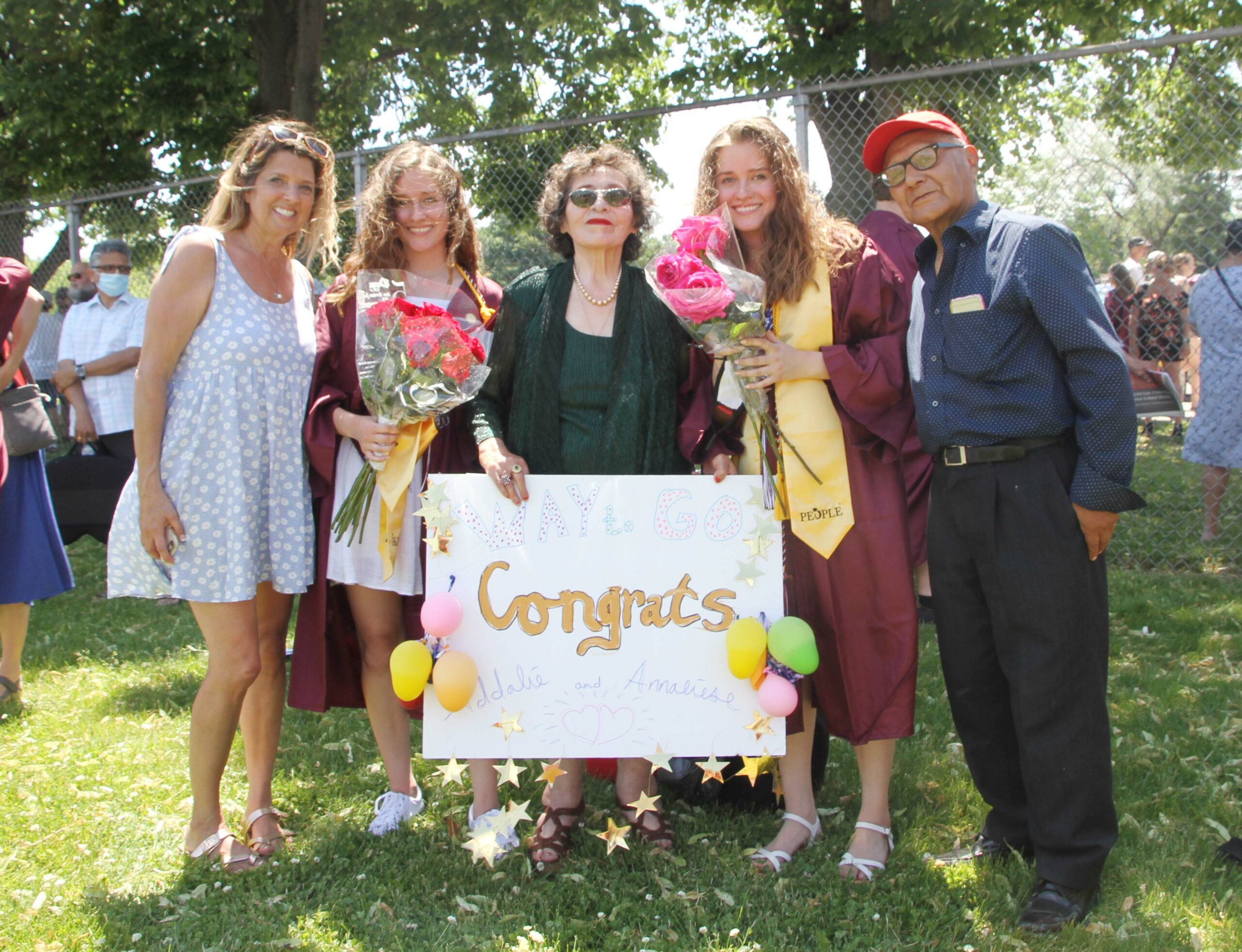 Graduación de estudiante de Middleton High School Clase 2021