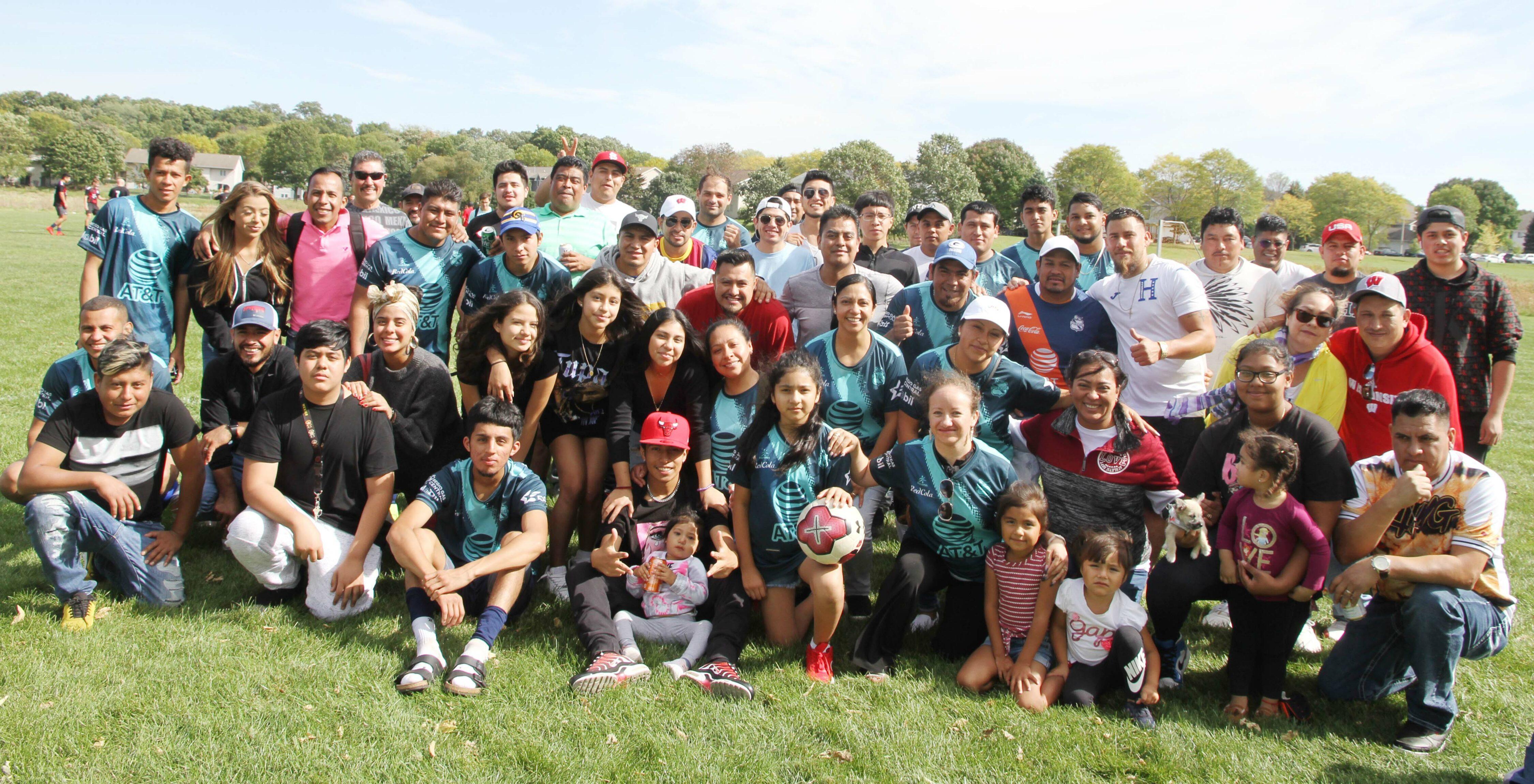 En la Liga de Latinos y Latinas se juegan las semifinales
